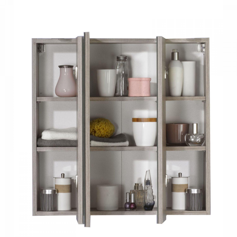 Komplett badm bel set hochglanz 70cm waschtisch badezimmerm bel spiegelschrank ebay - Badmobel komplett set ...