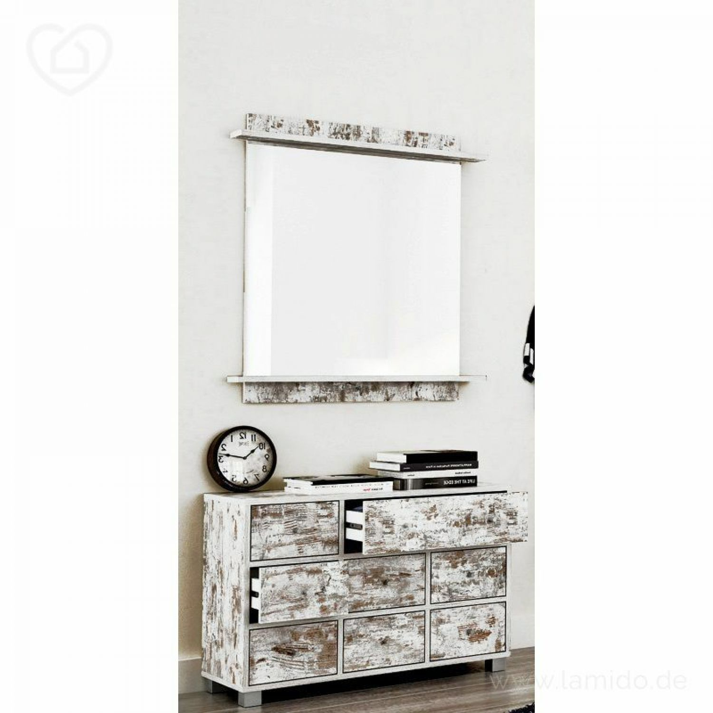 2 tlg garderoben set eiche antik kommode spiegel flurm bel flurkommode schrank ebay. Black Bedroom Furniture Sets. Home Design Ideas