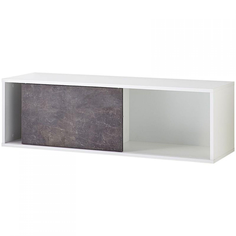Büro Wandregal Set 3-teilig weiß Bücherregal Aktenregal Büromöbel ...
