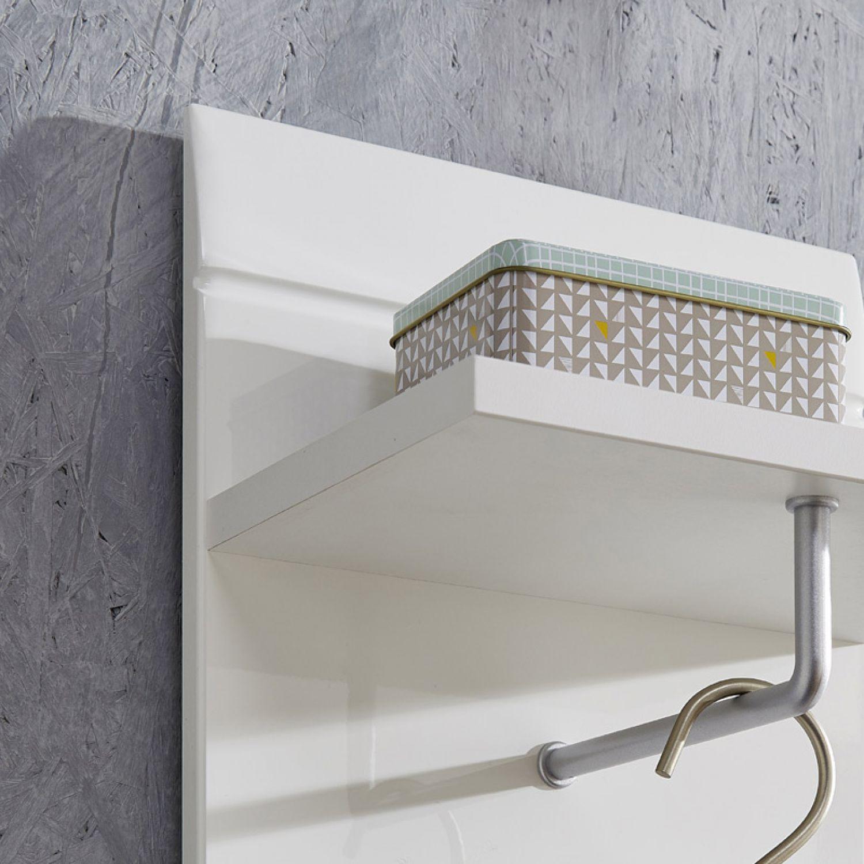 garderoben set hochglanz wei schuhschrank spiegel. Black Bedroom Furniture Sets. Home Design Ideas