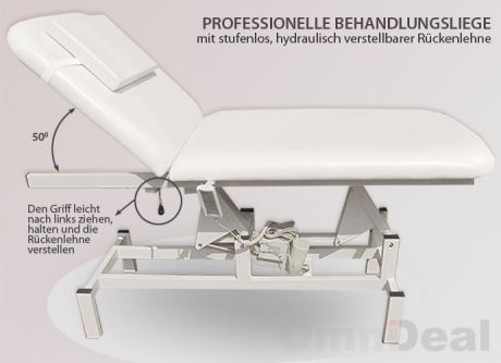 massageliege kosmetikstuhl elektrisch kosmetikliege. Black Bedroom Furniture Sets. Home Design Ideas