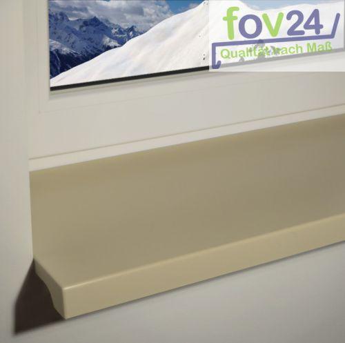 werzalit exclusiv innen fensterbank dekor stein mit beidseitiger abs kante ebay. Black Bedroom Furniture Sets. Home Design Ideas