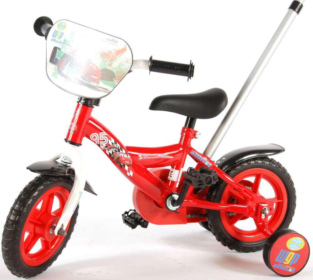 kinderfahrrad disney cars 10 zoll kinder fahrrad mit. Black Bedroom Furniture Sets. Home Design Ideas