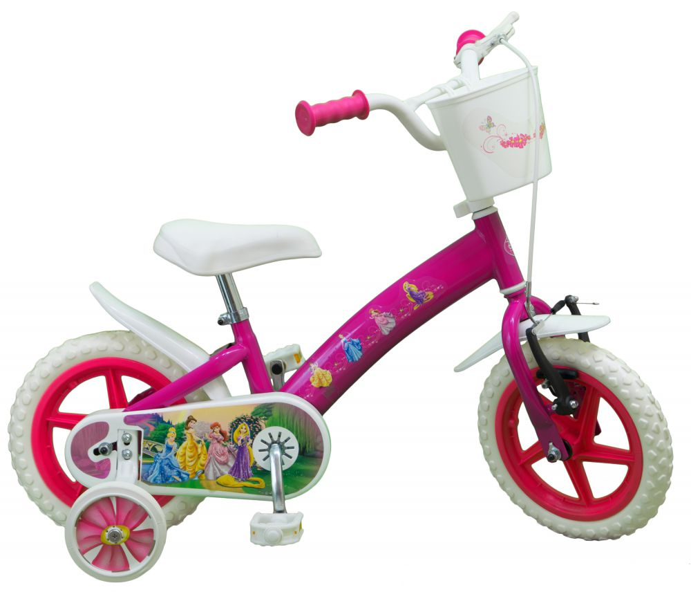 kinderfahrrad disney princess 12 zoll m dchen kinder. Black Bedroom Furniture Sets. Home Design Ideas