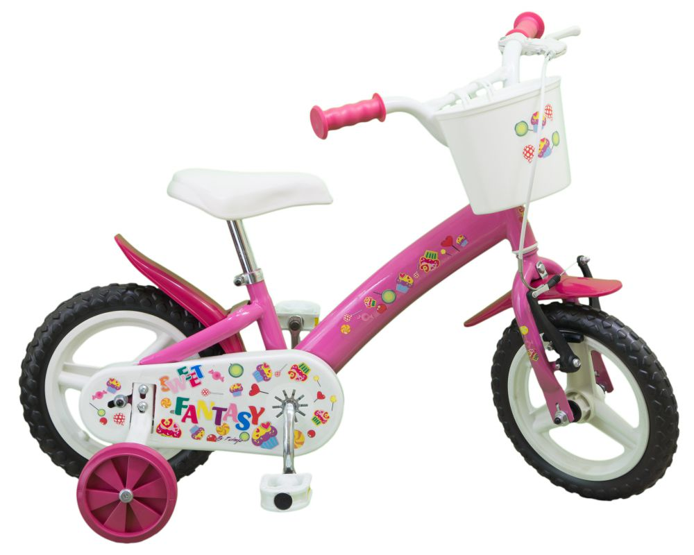 kinderfahrrad sweet fantasy 12 zoll pink kinder m dchen. Black Bedroom Furniture Sets. Home Design Ideas