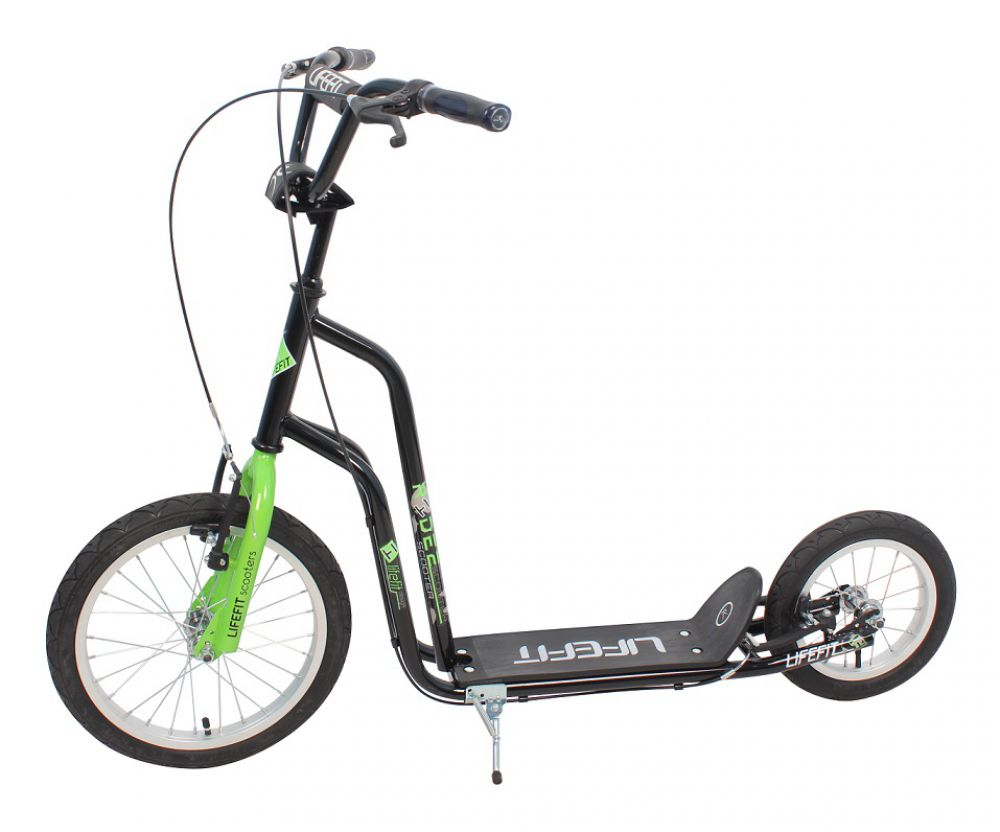 tretroller city scooter lifefit rider 16 12 zoll roller. Black Bedroom Furniture Sets. Home Design Ideas