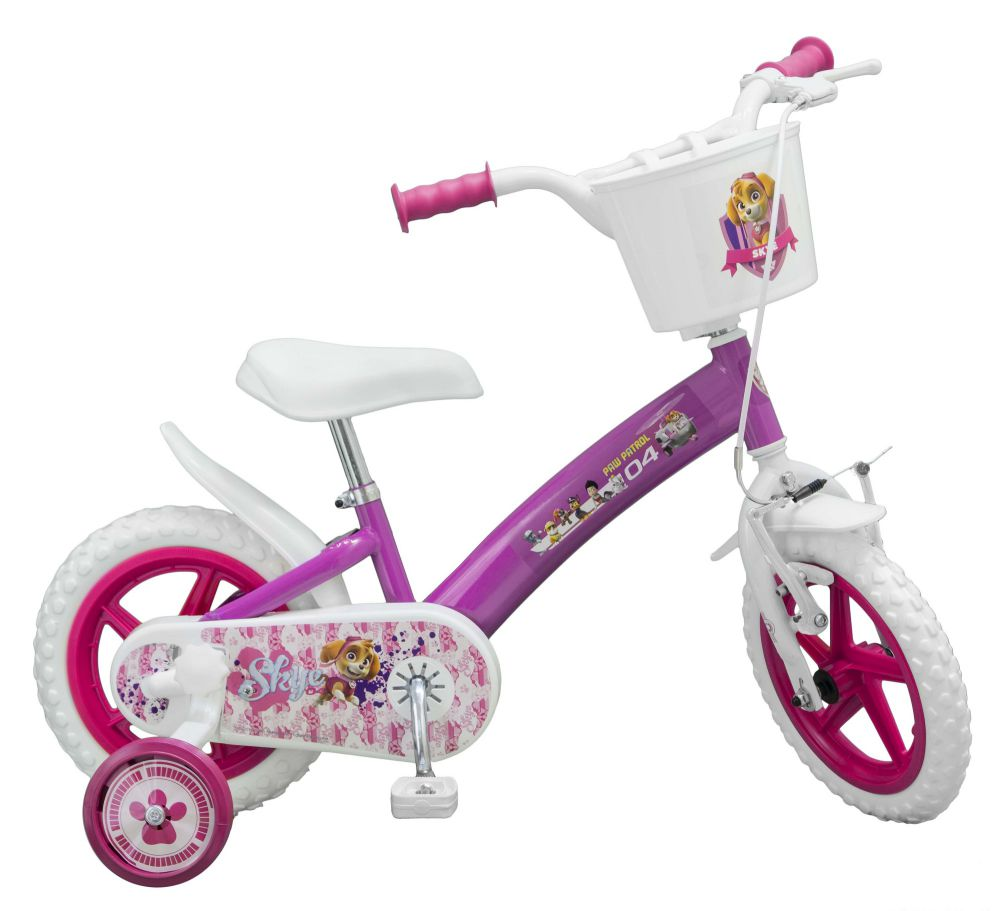 kinderfahrrad paw patrol 12 zoll mit puppensitz. Black Bedroom Furniture Sets. Home Design Ideas