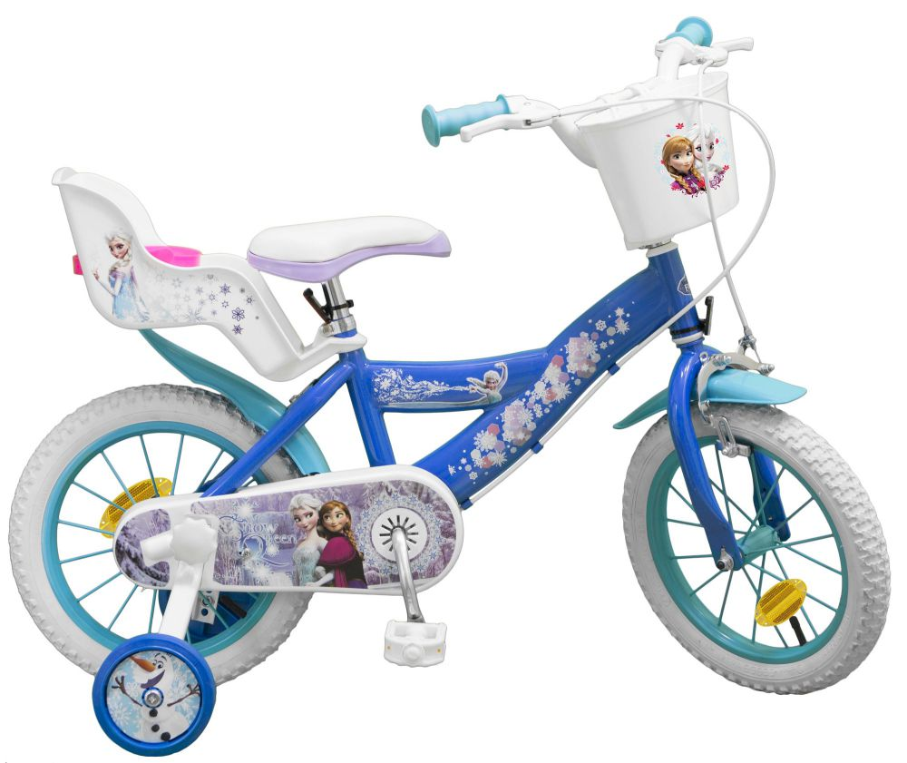 kinderfahrrad disney frozen die eisk nigin 14 zoll kinder. Black Bedroom Furniture Sets. Home Design Ideas