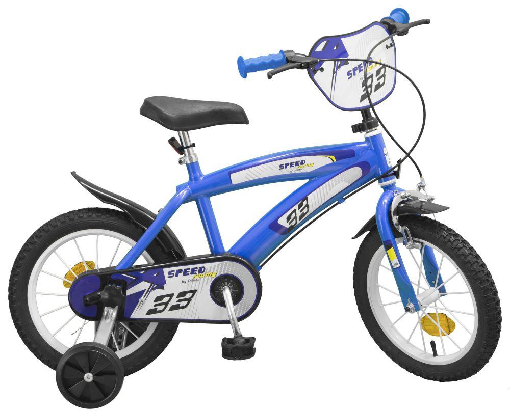 kinderfahrrad speed tx blau 14 zoll rad kinder fahrrad. Black Bedroom Furniture Sets. Home Design Ideas