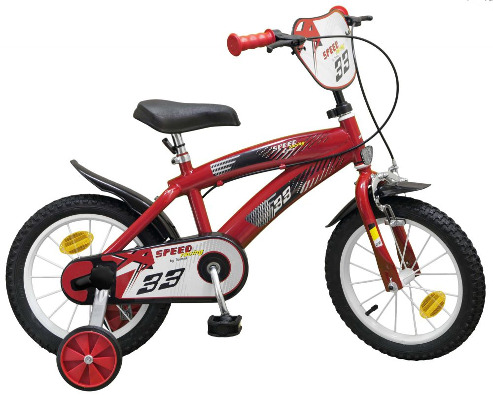 kinderfahrrad speed tx rot 14 zoll rad kinder fahrrad st tzr der jungen m dchen ebay. Black Bedroom Furniture Sets. Home Design Ideas