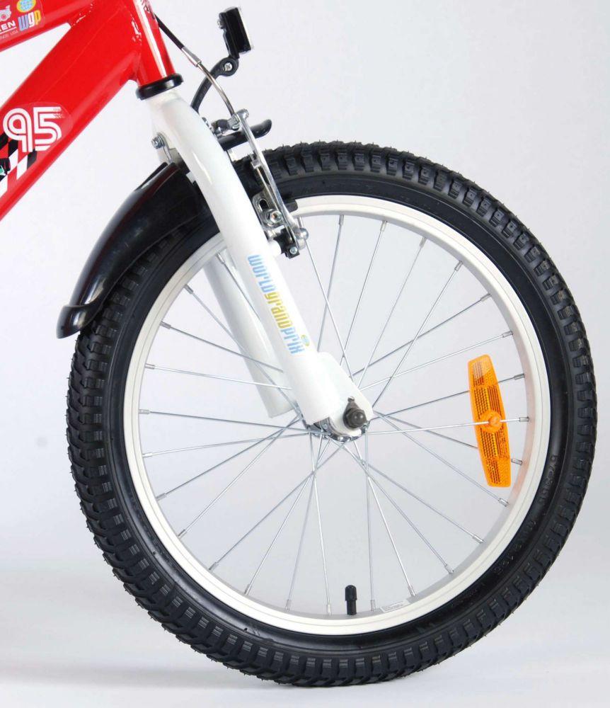 kinderfahrrad disney cars 18 zoll kinder fahrrad rad. Black Bedroom Furniture Sets. Home Design Ideas