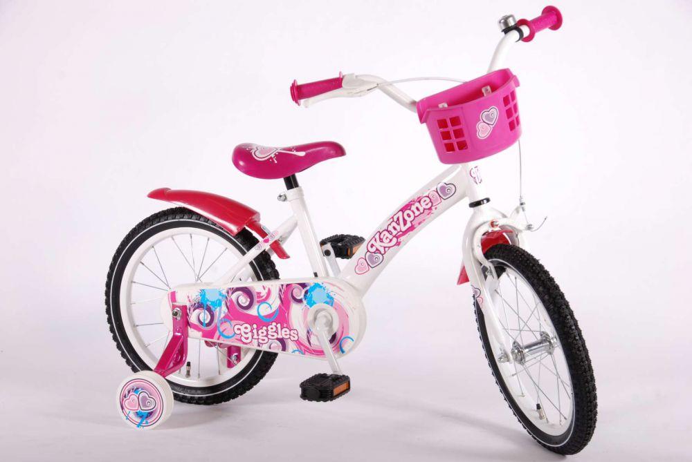 kinderfahrrad kanzone giggles 16 zoll kinder fahrrad mit r cktrittbremse u korb 8715347416231. Black Bedroom Furniture Sets. Home Design Ideas