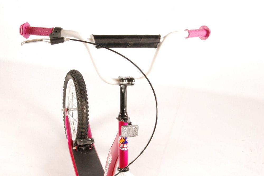 kinder tretroller volare 16 zoll pink city scooter roller. Black Bedroom Furniture Sets. Home Design Ideas