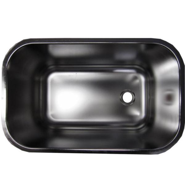 spülbecken gastrobecken aus chromnickelstahl 50x30x30cm  ~ Spülbecken Maße