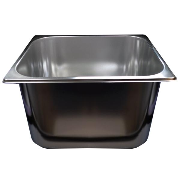 Spülbecken Gastrobecken aus Chromnickelstahl 33x30x20cm  ~ Spülbecken Ebay