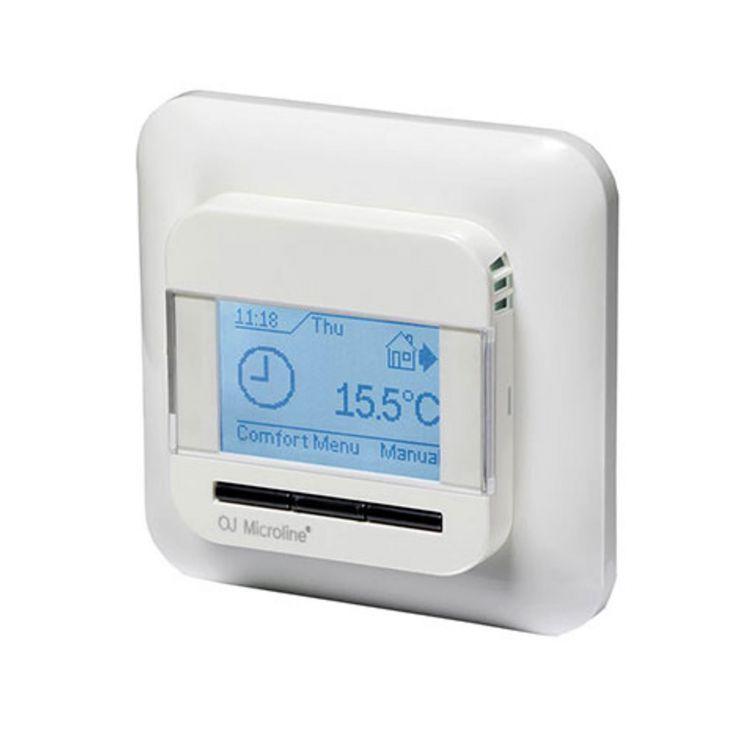 digitales up thermostat ocd4 mit ext f hler f r busch. Black Bedroom Furniture Sets. Home Design Ideas