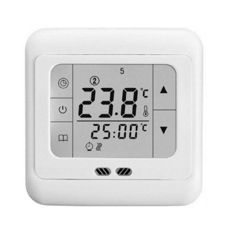 floureon digital thermostat fu bodenheizung lcd touch display ebay. Black Bedroom Furniture Sets. Home Design Ideas