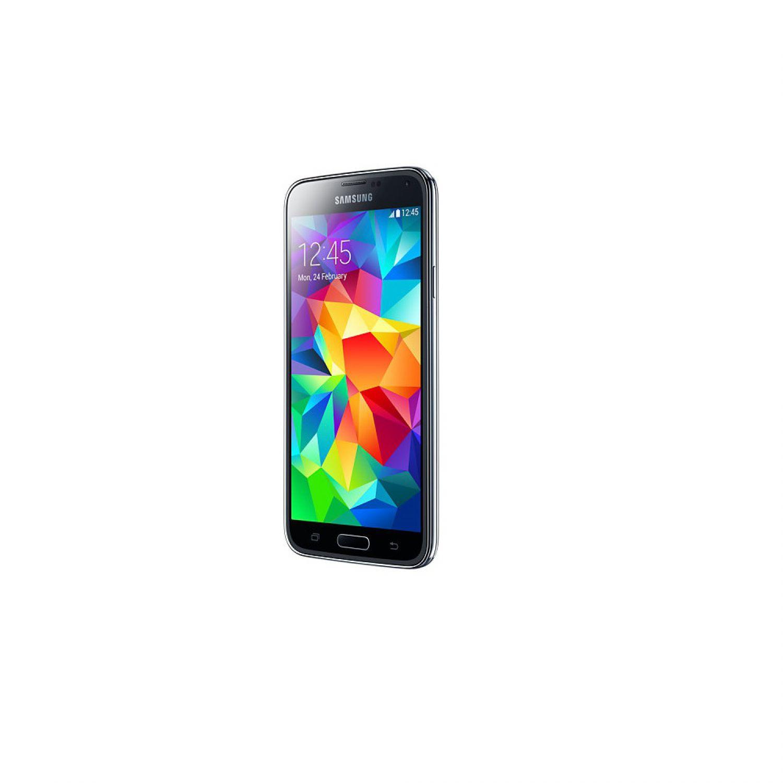 samsung galaxy s5 sm g900f black android smartphone handy. Black Bedroom Furniture Sets. Home Design Ideas