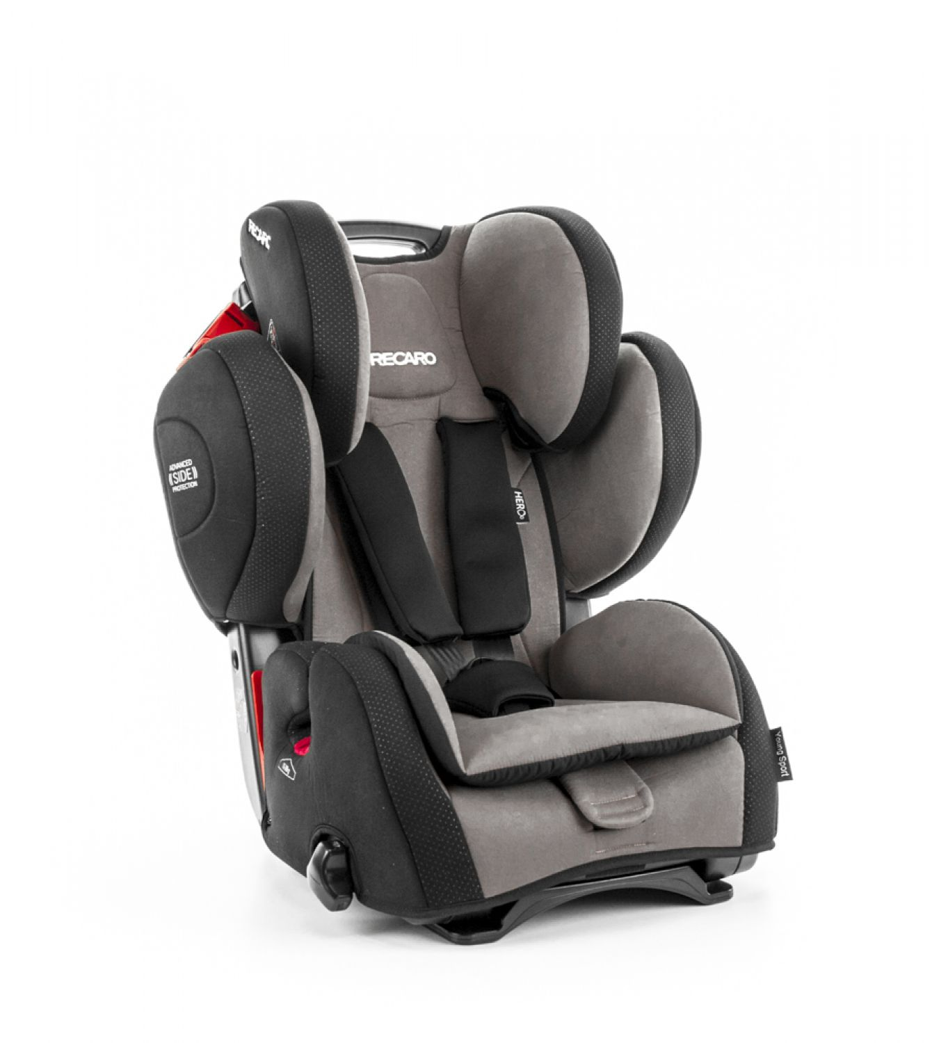recaro young sport hero kindersitz 9 36kg gruppe 1 2 3 mocca topangebot ebay. Black Bedroom Furniture Sets. Home Design Ideas