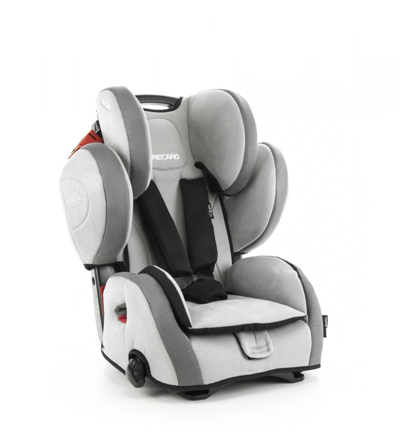 recaro young sport hero kindersitz 9 36kg gruppe 1 2 3 shadow topangebot ebay. Black Bedroom Furniture Sets. Home Design Ideas