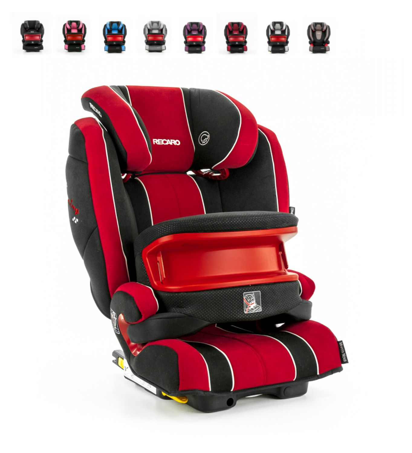 recaro autositz monza nova is seatfix isofix kindersitz 9 36kg testnote 2 0 ebay. Black Bedroom Furniture Sets. Home Design Ideas