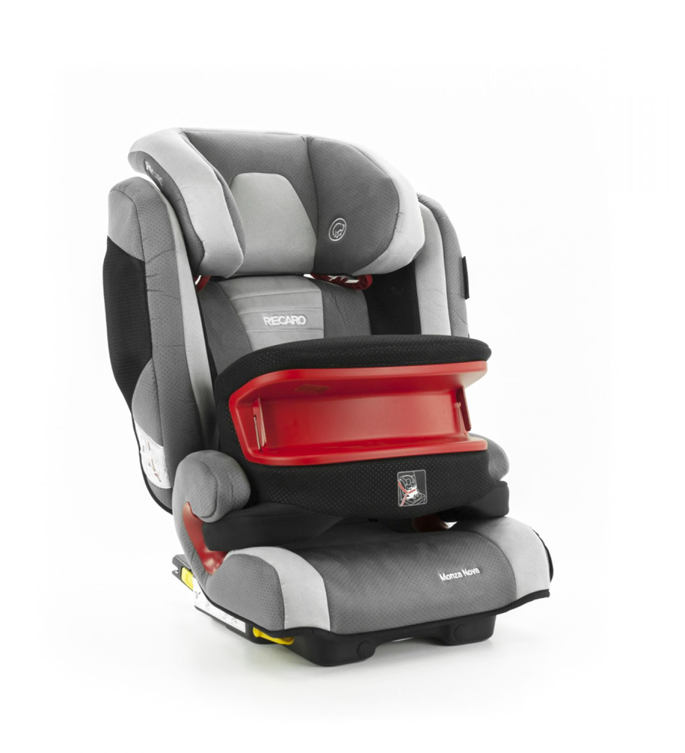 recaro monza nova is seatfix autositz 9 36kg gruppe 1 3 shadow testnote 2 ebay. Black Bedroom Furniture Sets. Home Design Ideas