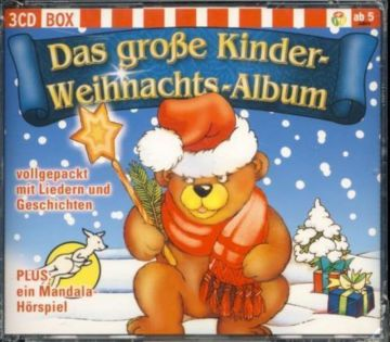 das gro e kinder weihnachts album lieder geschichten 3cd. Black Bedroom Furniture Sets. Home Design Ideas