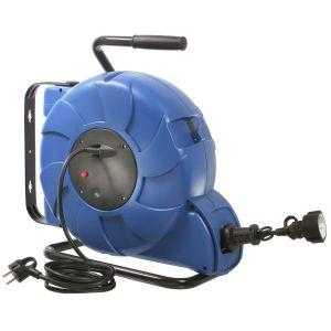25m 2m automatischer kabelaufroller kabeltrommel verl ngerungskabel 230v kabel ebay. Black Bedroom Furniture Sets. Home Design Ideas