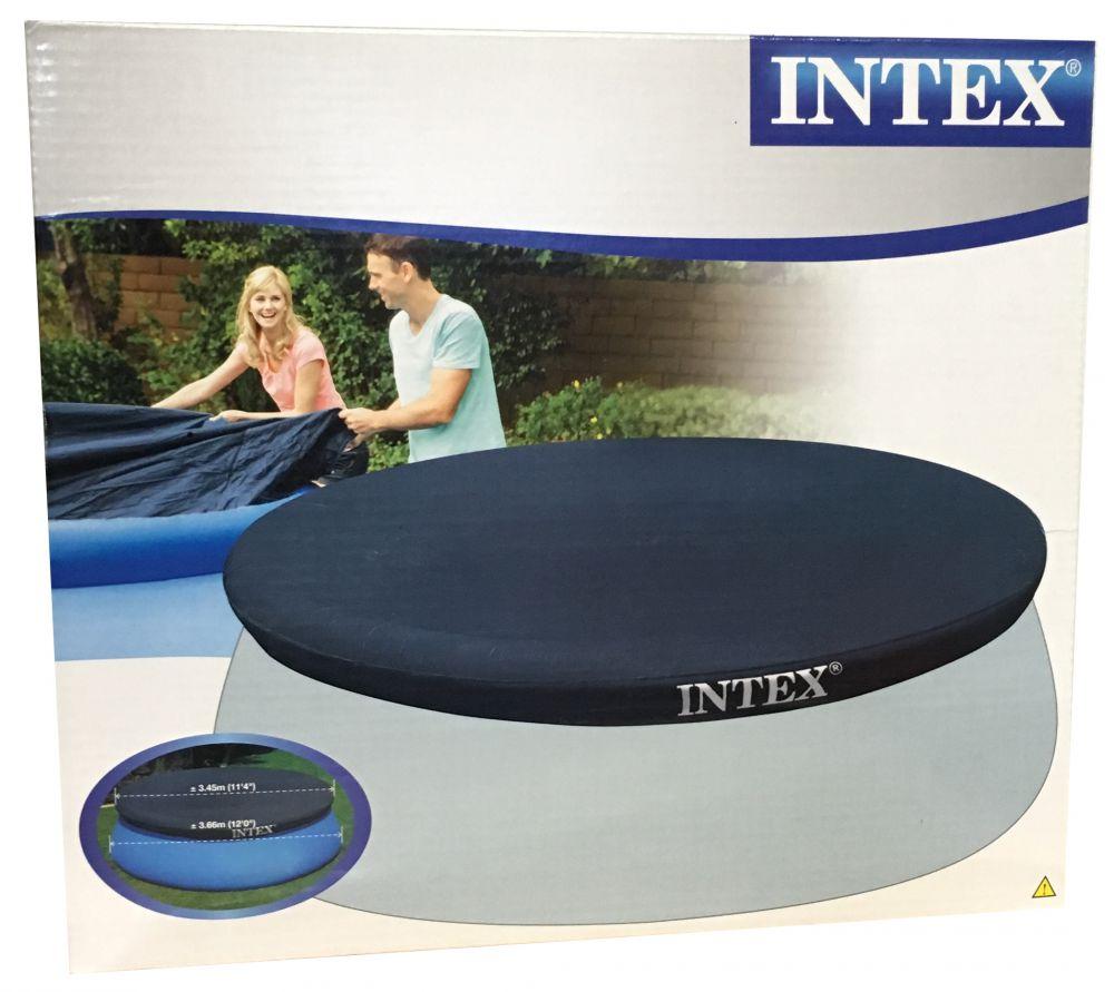 intex 28022 abdeckplane f r easy pool planschbecken 366 cm. Black Bedroom Furniture Sets. Home Design Ideas