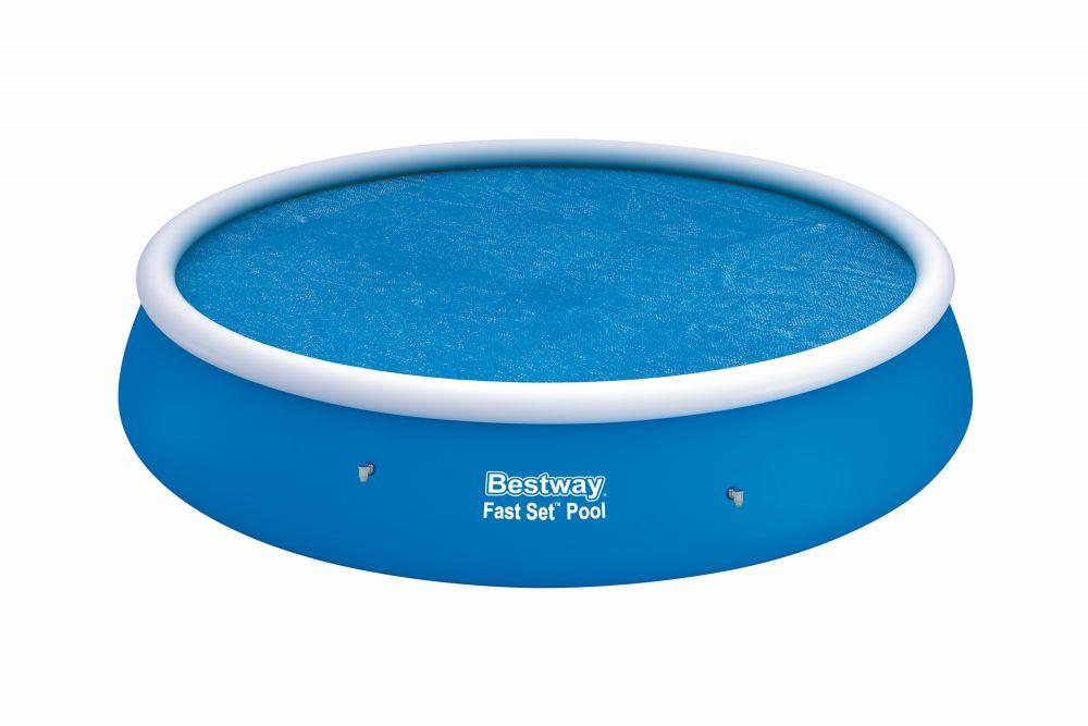 bestway 58065 solar abdeckplane f r fast set pool. Black Bedroom Furniture Sets. Home Design Ideas