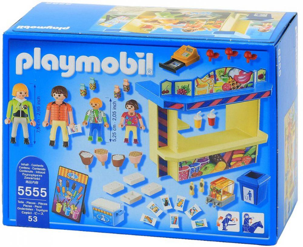 playmobil 5555 summer fun s ssigkeitenstand kirmes rummel. Black Bedroom Furniture Sets. Home Design Ideas