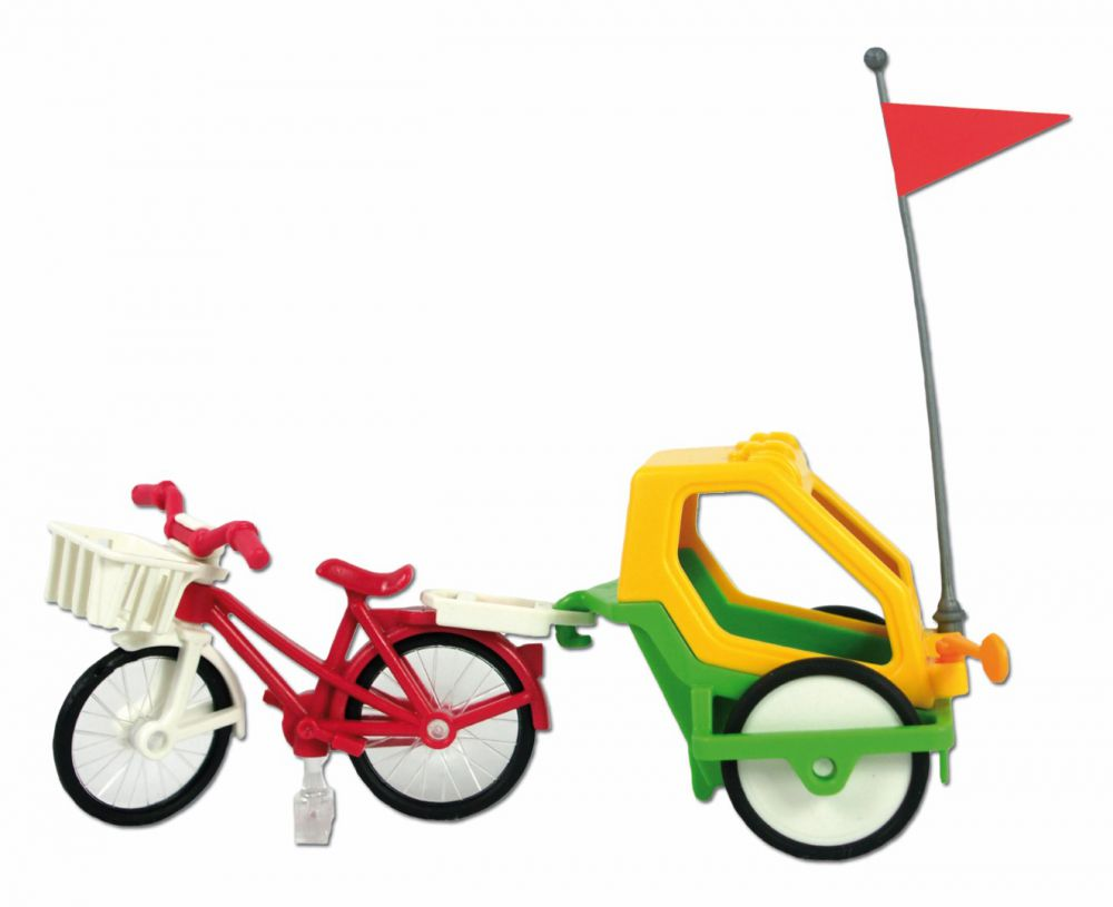 playmobil 6388 fahrrad mit kinderanh nger ebay. Black Bedroom Furniture Sets. Home Design Ideas