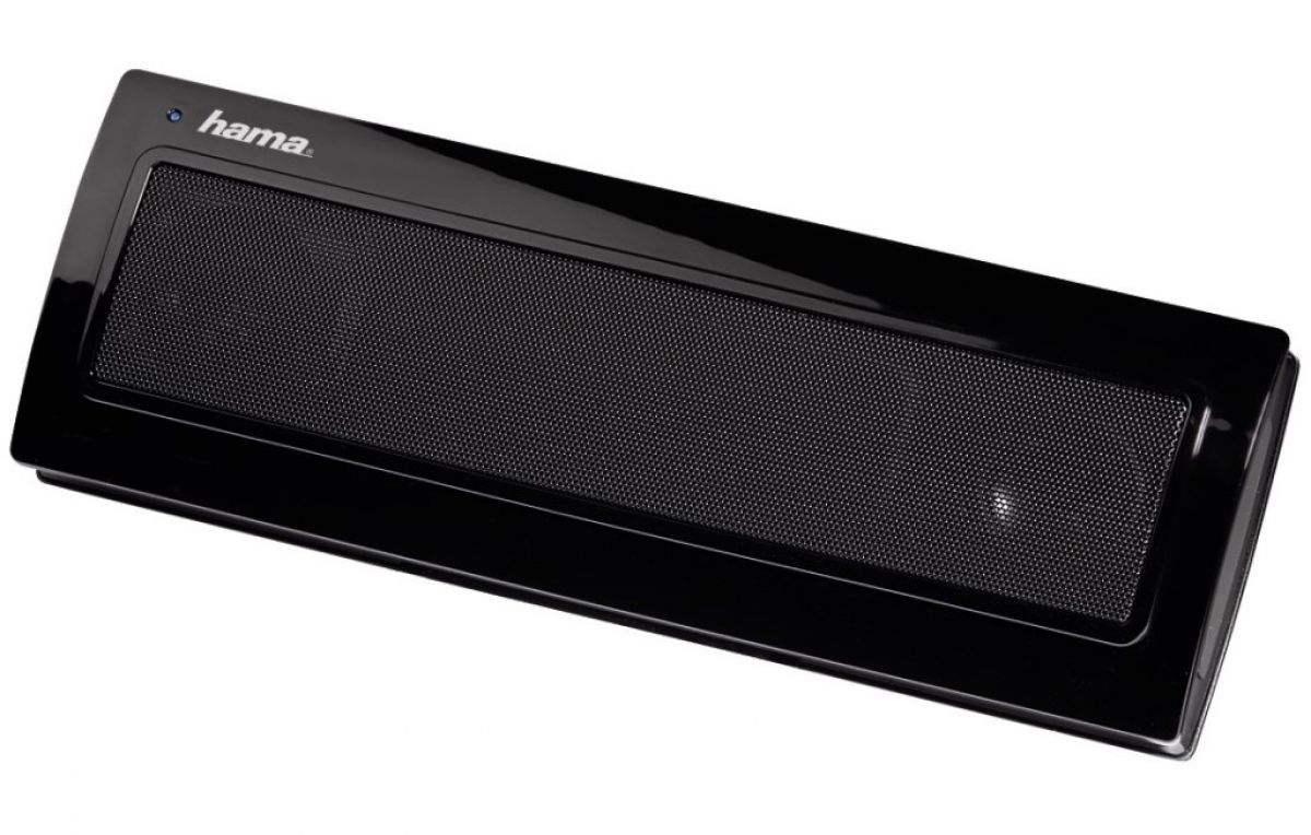 hama aktiv lautsprecher sonic boxen mobile soundbar sound system f r pc notebook ebay. Black Bedroom Furniture Sets. Home Design Ideas
