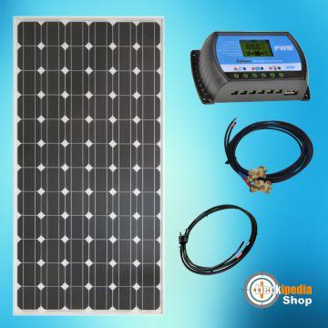 195 watt bausatz insel solaranlage 12 volt basis set f r. Black Bedroom Furniture Sets. Home Design Ideas