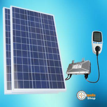 510 watt plug play solaranlage photovoltaikanlage komplett set f r steckdose ebay. Black Bedroom Furniture Sets. Home Design Ideas