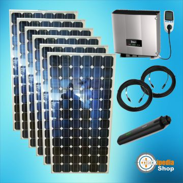 1050 watt plug play solaranlage photovoltaikanlage komplett set f r steckdose ebay. Black Bedroom Furniture Sets. Home Design Ideas
