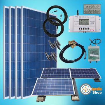 1000 watt insel solaranlage pv basis set f r 24v stromspeicher mit variotwin 12 ebay. Black Bedroom Furniture Sets. Home Design Ideas