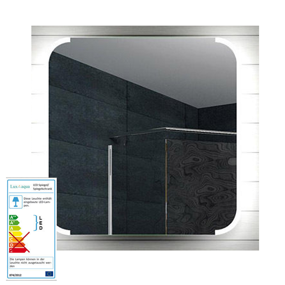 spiegel wand badezimmer badspiegel beleuchtet beleuchtung. Black Bedroom Furniture Sets. Home Design Ideas