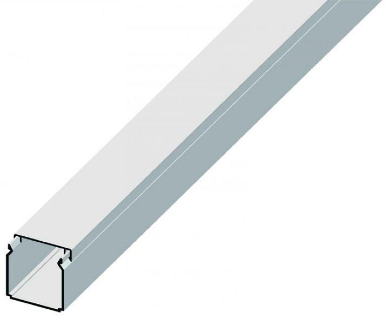 Kabelkanal - 20 Meter - 40 x 40 Installationskanal PVC ...