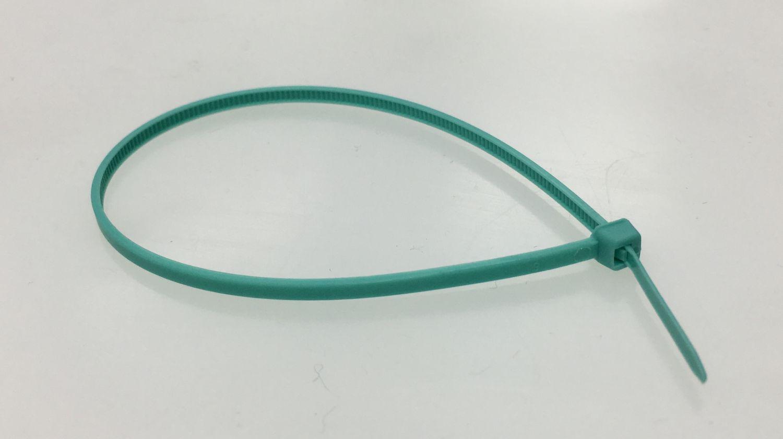 Kabelbinder Nylon 200x2,5 mm, Sonder-Farbe: türkis 1000 Stk ...