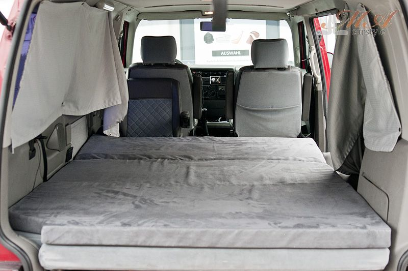 schlafmatratze 3 teilig vw t4 caravelle ebay. Black Bedroom Furniture Sets. Home Design Ideas