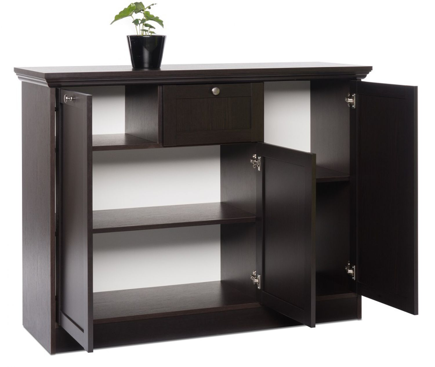 sideboard schwarzbraun. Black Bedroom Furniture Sets. Home Design Ideas