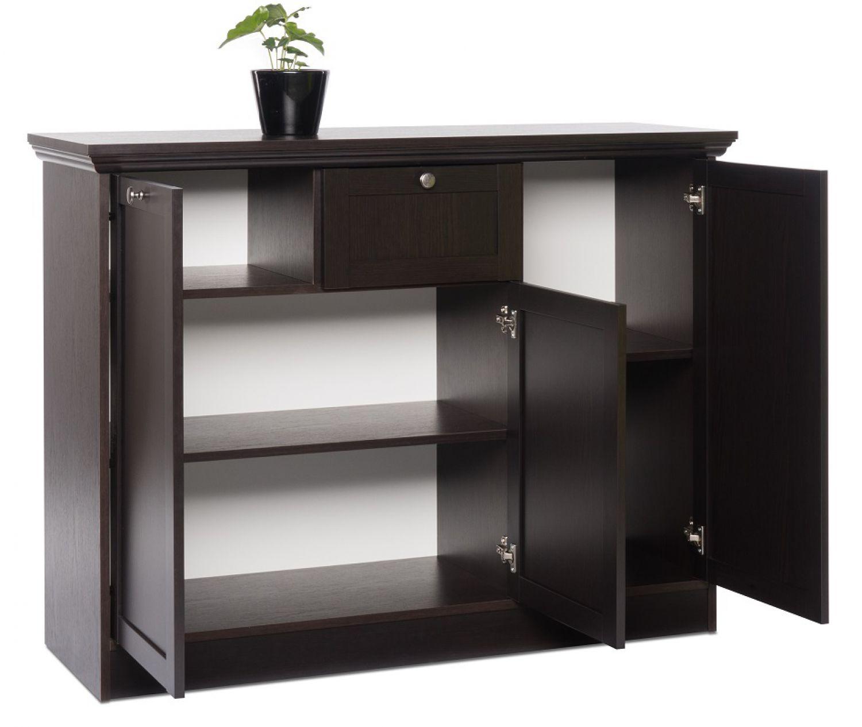 sideboard schwarzbraun. Black Bedroom Furniture Sets. Home Design Ideas