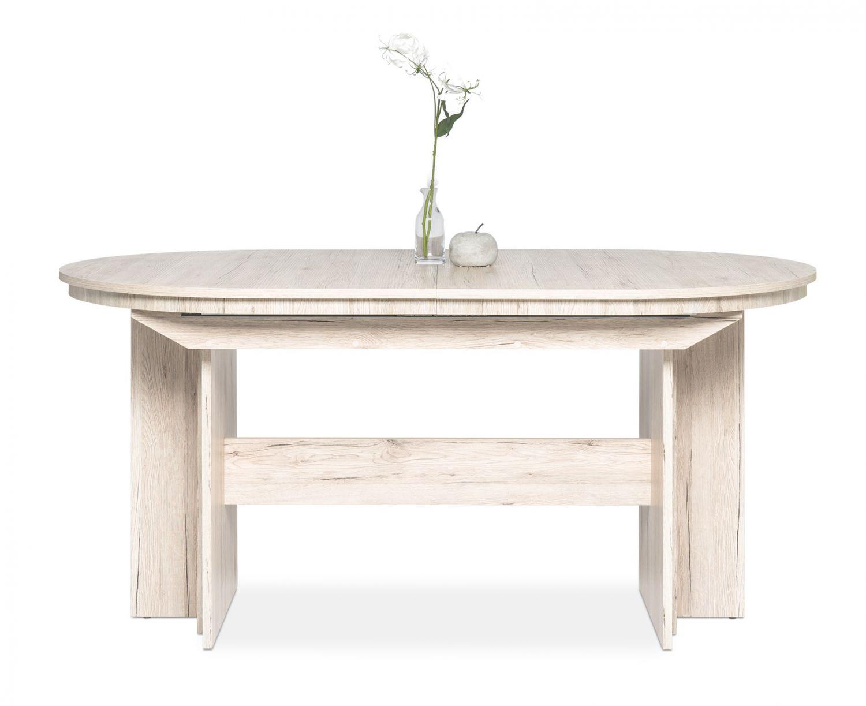 esstisch romus gro ausziehtisch ausziehbar bis 310 cm sorrento eiche ebay. Black Bedroom Furniture Sets. Home Design Ideas