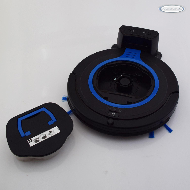 philips smartpro compact staubsauger roboter schwarz blau. Black Bedroom Furniture Sets. Home Design Ideas