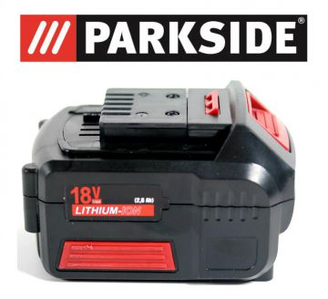 Batterie parkside 18v lithium - Parkside batterie de rechange ...