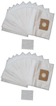 20 staubsaugerbeutel filtert ten filterbeutel f r aeg electrolux vampyr ce999 ebay. Black Bedroom Furniture Sets. Home Design Ideas