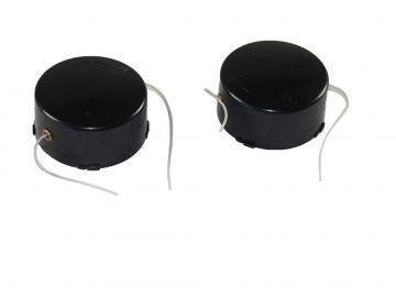 2 ersatzspule ersatz spule fadenspule passend f r rasentrimmer topcraft rt 430 ebay. Black Bedroom Furniture Sets. Home Design Ideas