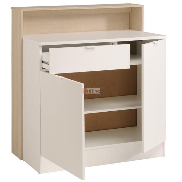 parisot key 2 multifunktions regal schreibtisch bar theke ebay. Black Bedroom Furniture Sets. Home Design Ideas