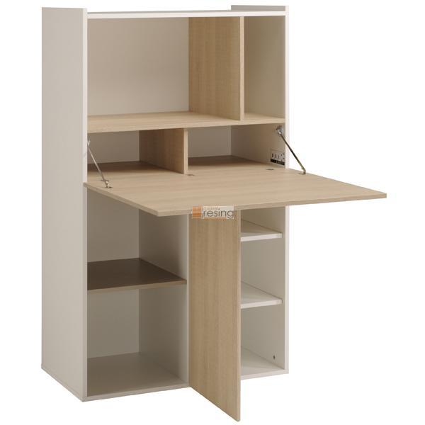 parisot flip 2 multifunktions regal schreibtisch bar theke. Black Bedroom Furniture Sets. Home Design Ideas